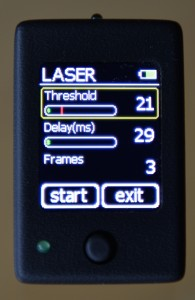 The µ-Trigger in Laser trigger mode